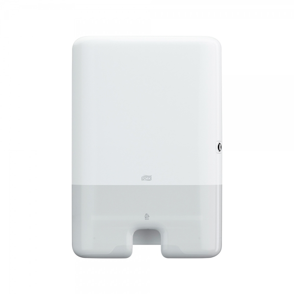Dispenser de Papel Toalha Interfolhado Maxi Branco Tork 552000