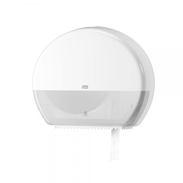 Dispenser de Papel Higiênico Jumbo Mini Branco Tork 555000