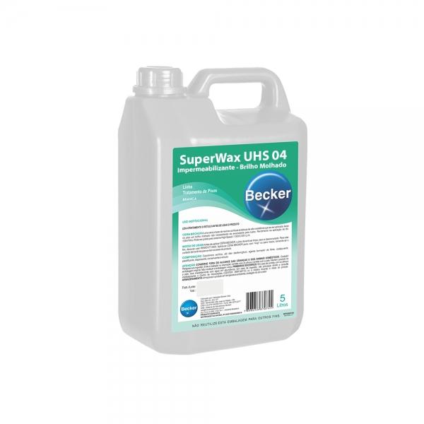 Impermeabilizante para Piso Super Wax UHS04 Uretano Becker