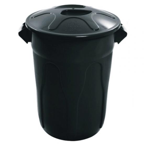 Cesto Plástico com Tampa Scalfo