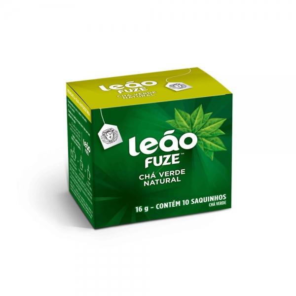 Chá Verde Leão c/ 10 saquinhos