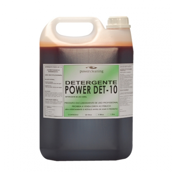Detergente 5 Litros DET 10 Power Cleaning