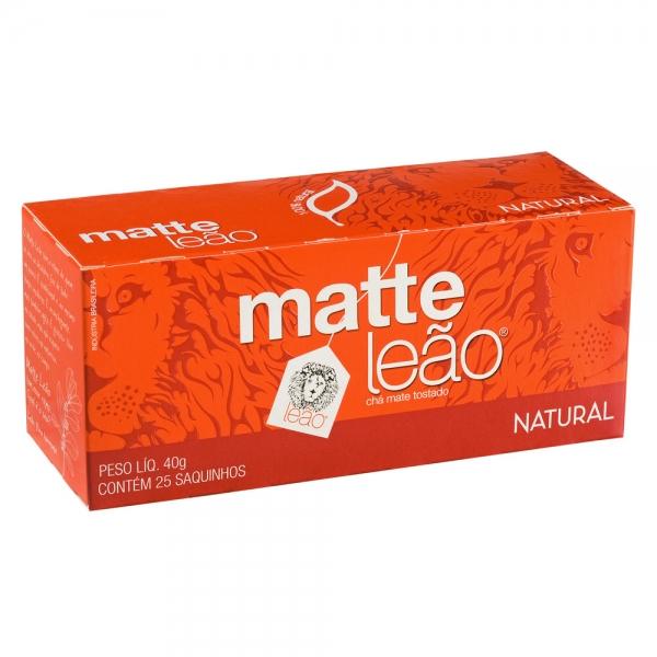 Chá Matte Leão c/ 25 saquinhos