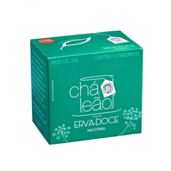 Chá Erva Doce Leão c/ 10 saquinhos