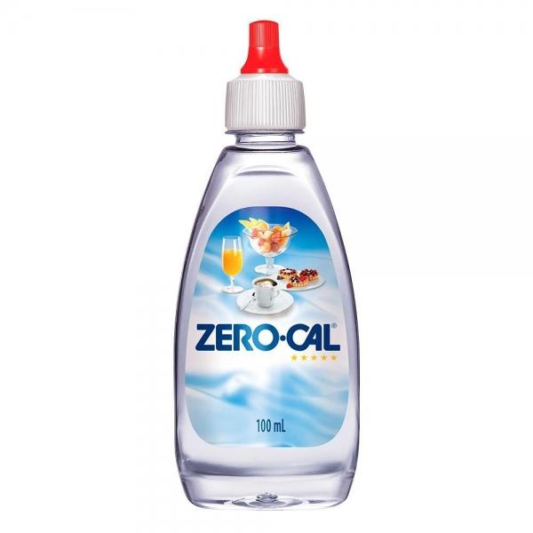 Adoçante Líquido Zero Cal Sacarina 100 ml