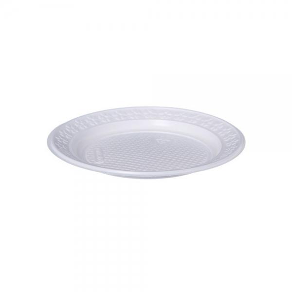 Prato Descartável Branco 150mm c/10 PR15 Kerocoppo