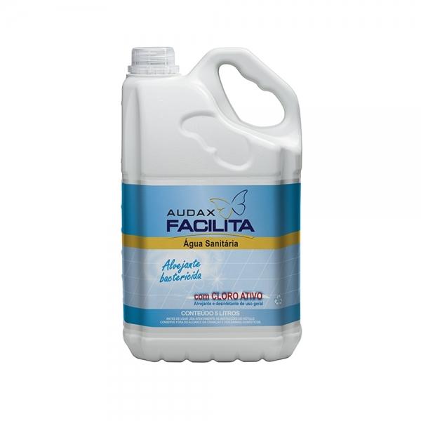 Água Sanitária Facilita 5 Litros Audax