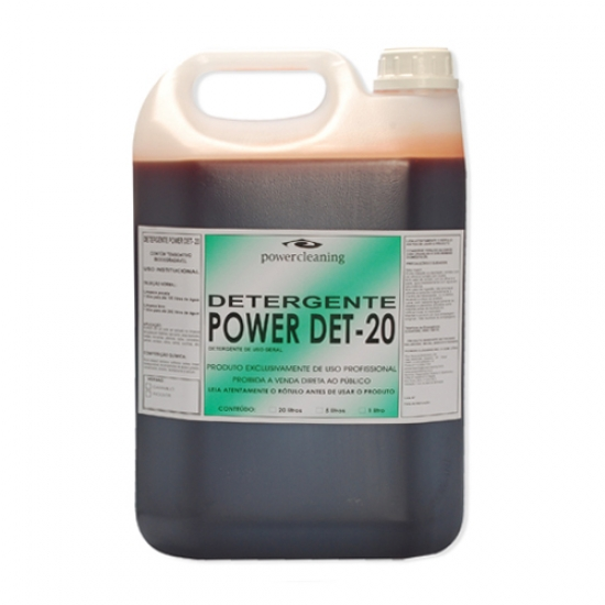 Detergente 5 Litros DET 20 Power Cleaning