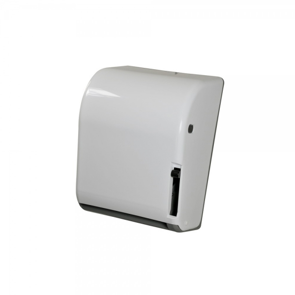 Toalheiro de Alavanca Papel Bobina N17 Branco/Cinza Scalfo