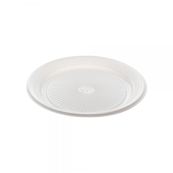 Prato Descartável Branco 260mm