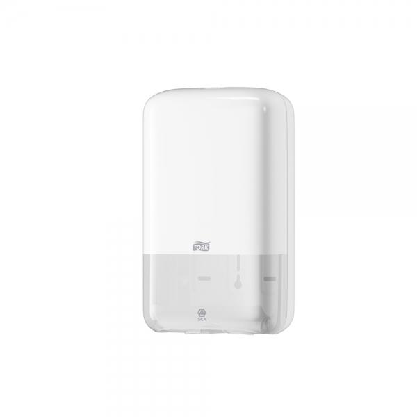 Dispenser de Papel Higiênico Interfolhado Branco Cai Cai Tork 556000