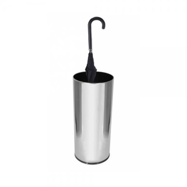 Porta Guarda-Chuva em Aço Inox U1 30x70cm Scalfo