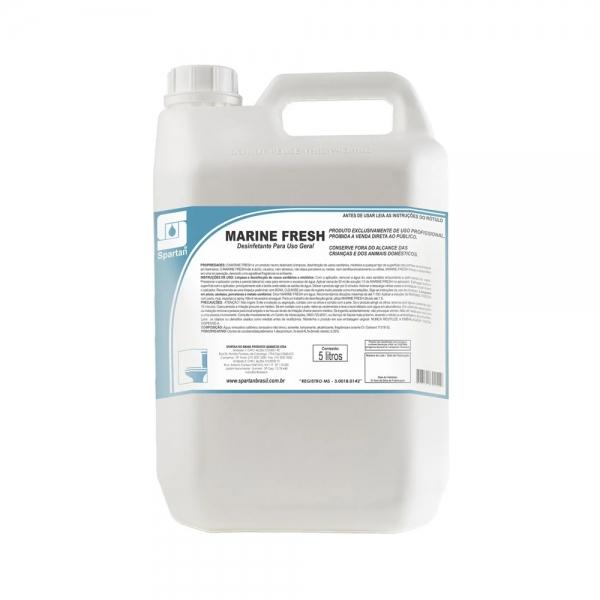 Limpador Desinfetante Marine Fresh 5lt Spartan
