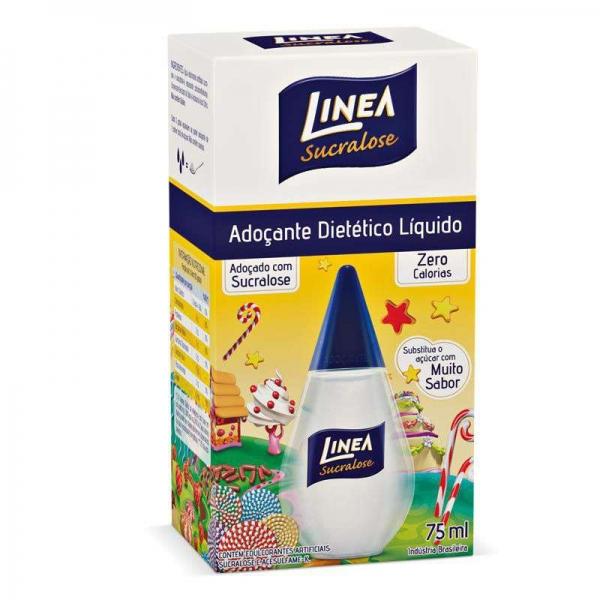 Adoçante Líquido Linea c/ sucralose 75 ml