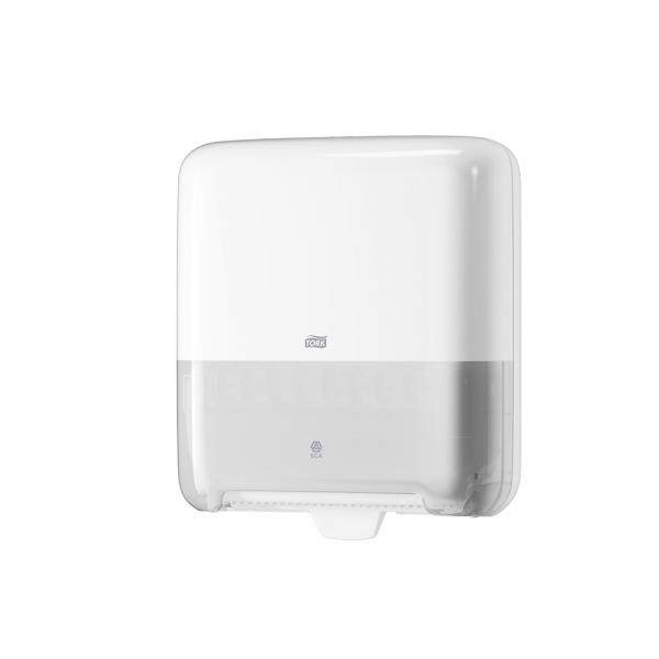 Dispenser de Papel Toalha Rolo Manual Matic Branco Tork 551000