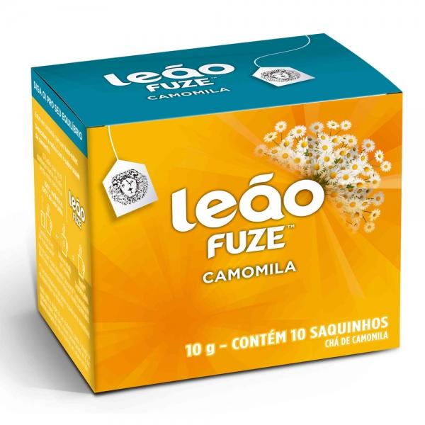 Chá Camomila Leão c/ 10 saquinhos