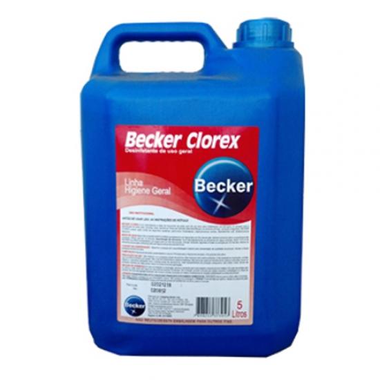 Desinfetante Hospitalar Clorex Becker