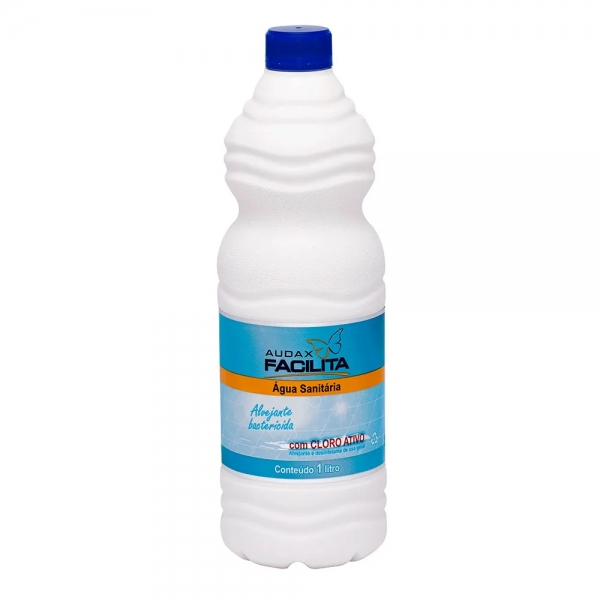 Água Sanitária Facilita 1 Litro Audax