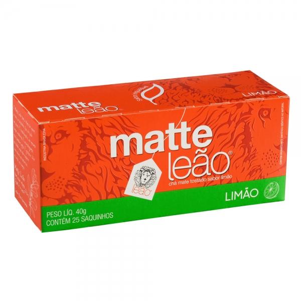 Chá Matte c/ Limão Leão c/ 25 saquinhos