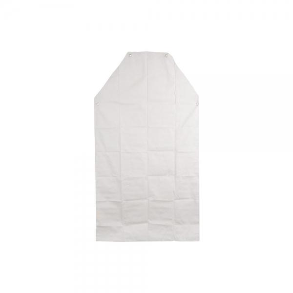 Avental PVC Forrado 1,20 x 0,70 Branco c/ Ilhós Balaska