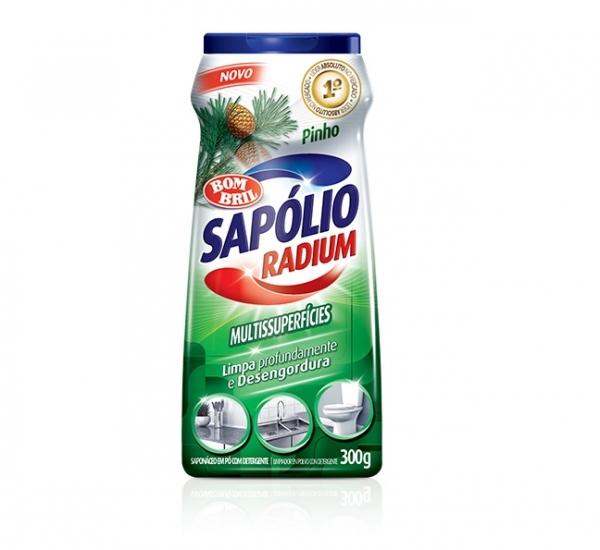 Sapólio em Pó Radium Pinho Bombril 300g  14018